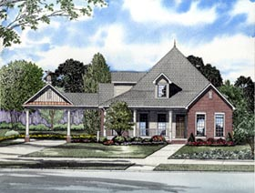 Southern House Plan 61305 Elevation