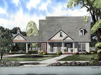 Cape Cod House Plan 61313 Elevation