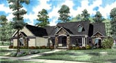 Plan Number 61323 - 3602 Square Feet