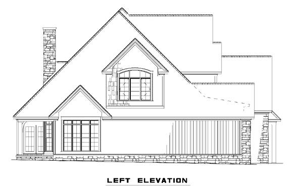 Cottage, Craftsman, Farmhouse House Plan 61325 with 4 Beds, 3 Baths, 2 Car Garage Picture 1