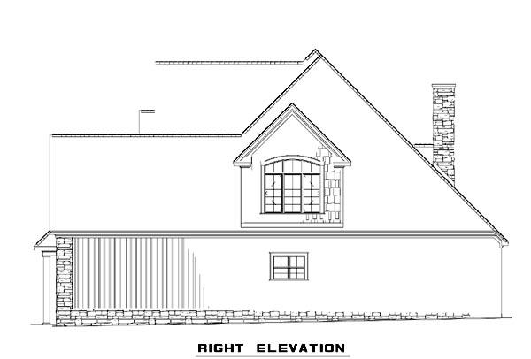 Cottage, Craftsman, Farmhouse House Plan 61325 with 4 Beds, 3 Baths, 2 Car Garage Picture 2