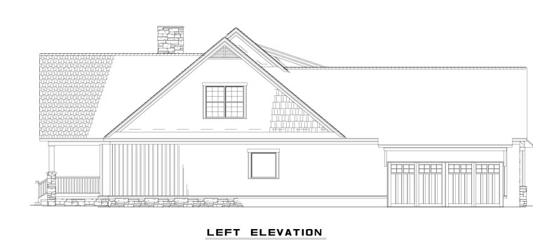 Country House Plan 61332 with 4 Beds, 4 Baths, 2 Car Garage Picture 1