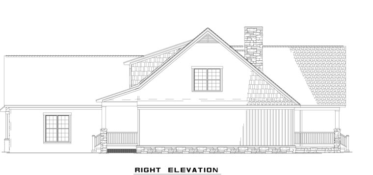 Country House Plan 61332 with 4 Beds, 4 Baths, 2 Car Garage Picture 2