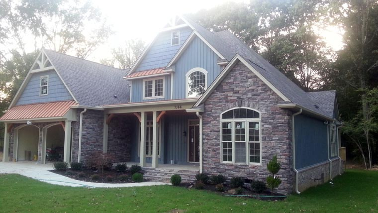 Craftsman, Traditional House Plan 61333 with 3 Beds, 3 Baths, 2 Car Garage Picture 10