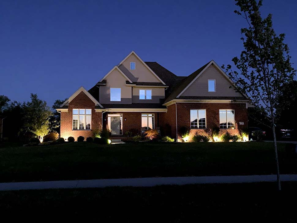 Craftsman, Traditional House Plan 61333 with 3 Beds, 3 Baths, 2 Car Garage Picture 12