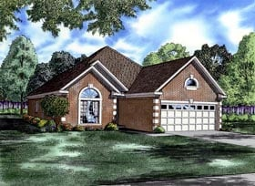 Traditional House Plan 61339 Elevation
