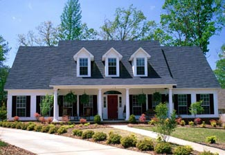 Country House Plan 61341 with 5 Beds, 3 Baths, 2 Car Garage Picture 1