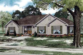 Plan Number 61350 - 2096 Square Feet