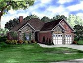Plan Number 61352 - 1601 Square Feet