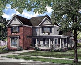 House Plan 61359 Elevation