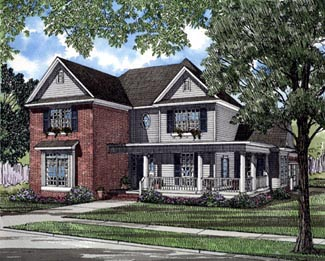 House Plan 61359 Elevation