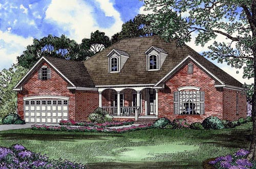 House Plan 61369 Elevation