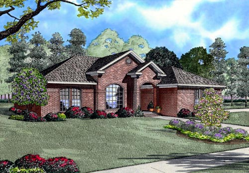 House Plan 61390 Elevation