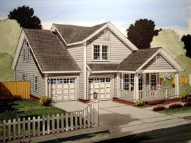 Plan Number 61412 - 2141 Square Feet