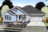 Plan Number 61424 - 1679 Square Feet