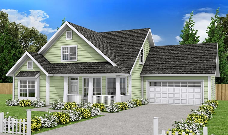 Traditional House Plan 61452 Elevation