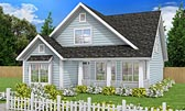 Plan Number 61453 - 1597 Square Feet