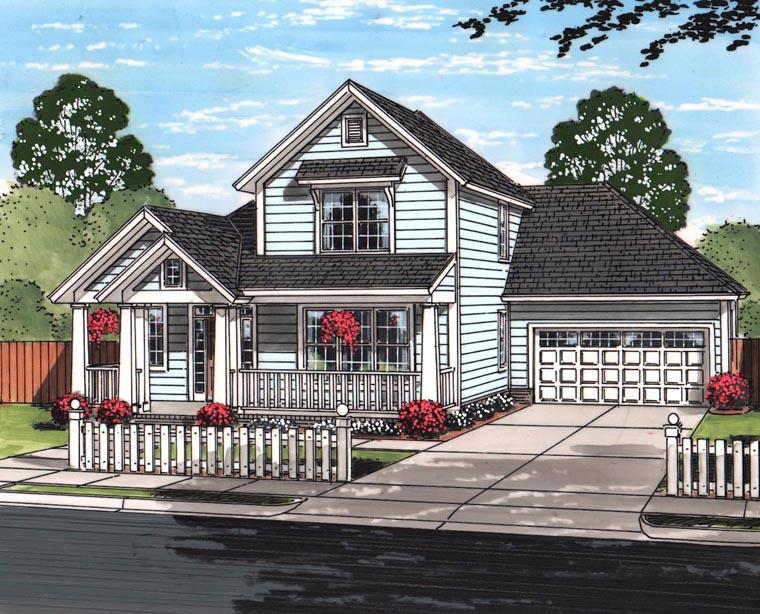 House Plan 61464