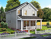 Plan Number 61483 - 1564 Square Feet