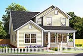 Plan Number 61486 - 2165 Square Feet