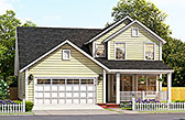 Plan Number 61488 - 2308 Square Feet