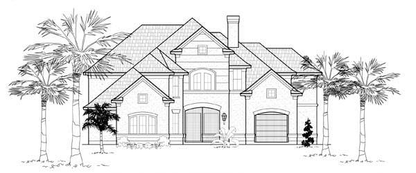 Mediterranean House Plan 61769 Elevation