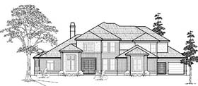 Traditional House Plan 61770 Elevation