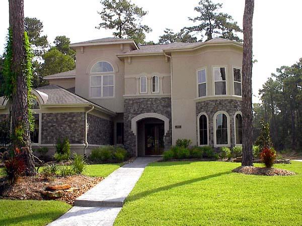 Mediterranean House Plan 61780 Elevation