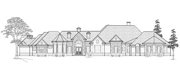 Victorian House Plan 61781 Elevation