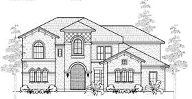 Mediterranean House Plan 61790 Elevation