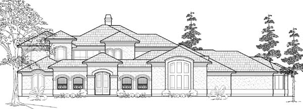 Traditional House Plan 61792 Elevation