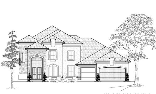 Mediterranean House Plan 61793 Elevation