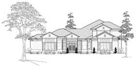 Mediterranean House Plan 61802 Elevation