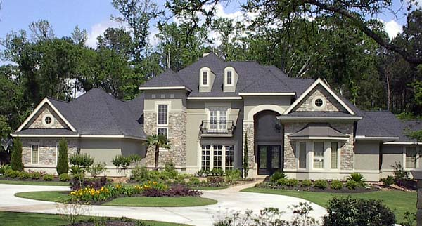 Victorian House Plan 61813 Elevation
