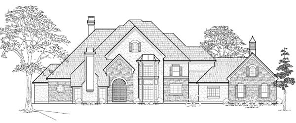 Victorian House Plan 61821 Elevation