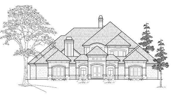 Victorian House Plan 61823 Elevation