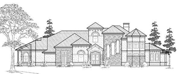 Victorian House Plan 61831 Elevation