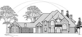 Plan Number 61835 - 5303 Square Feet