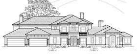 Plan Number 61842 - 5386 Square Feet