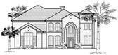 Plan Number 61844 - 5394 Square Feet