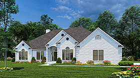 Plan Number 62001 - 2534 Square Feet