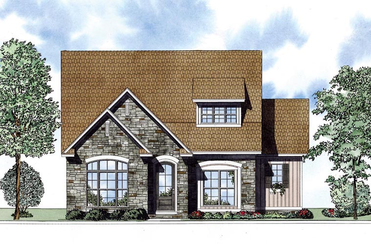 Cape Cod Country House Plan 62004 Elevation