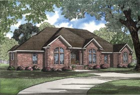 Plan Number 62007 - 2742 Square Feet