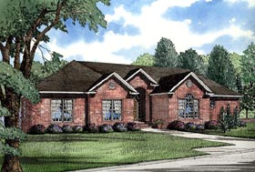 Plan Number 62011 - 3052 Square Feet