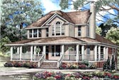 Plan Number 62015 - 3435 Square Feet