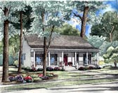 Plan Number 62023 - 1381 Square Feet