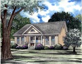 Plan Number 62025 - 1442 Square Feet