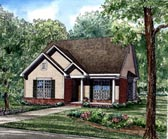 Plan Number 62033 - 1265 Square Feet