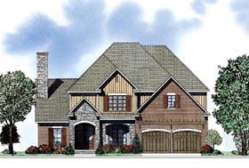 Plan Number 62040 - 2931 Square Feet