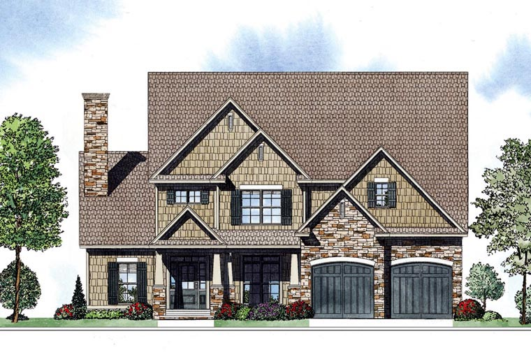 Country Southern House Plan 62041 Elevation